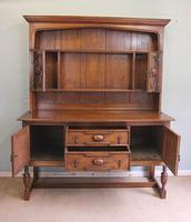 Antique Oak Dresser (12 of 12)
