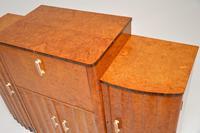 Art Deco Burr Walnut Cocktail Cabinet / Sideboard by Epstein (9 of 12)