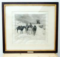 The Generals in the Snow by Jle Meissonier  Framed Print (2 of 13)