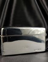 Late 1920's Silver Cigar Case (2 of 6)