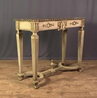 Italian Painted & Giltwood Console Table (8 of 11)