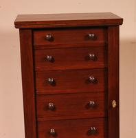 Small Wellington Chest with Seven Drawer 19th Century - Mahogany (3 of 9)