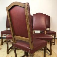 French Os De Mutton Set of 6 Dining Chairs (12 of 14)