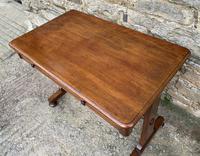 Antique Regency Mahogany Library Table (10 of 14)