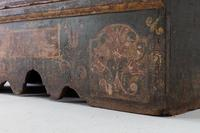 18th Century Painted Trunk on Stand (8 of 13)