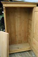 Fabulous Large Old Pine One Door Cupboard - Linen/Food/Kitchen/Larger/Wardrobe - We Del;iver! (3 of 11)