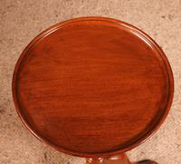 Small Tripod Table Called Wine Table in Mahogany - 19th Century (7 of 8)