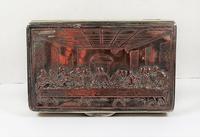 Rare French F Morel Solid Silver Last Supper Scense Lud Snuff Box (8 of 18)