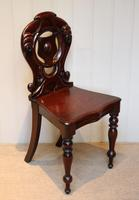 Mid Victorian Mahogany Hall Chair (8 of 8)