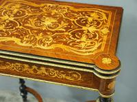 Louis XV Style French Marquetry Games / Side Table (5 of 15)