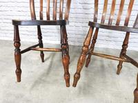Pair of Windsor Latheback Side Chairs (4 of 5)