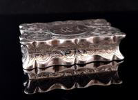 Antique silver snuff box, Deakin and Francis (10 of 12)