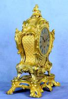 Fine English Ormolu Fusee Mantle Clock - Webster of London (7 of 9)