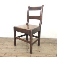 Antique Welsh Oak Farmhouse Chair