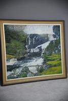 Large Waterfall Oil Painting (17 of 20)