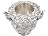 Antique George III Sterling Silver Wine Cooler (3 of 18)