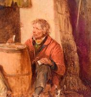 Superb oil painting by Edmund Bristow (1787-1876) (8 of 11)