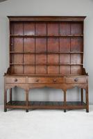 Antique Oak & Pine Kitchen Dresser (3 of 12)