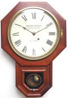 Impressive Victorian American Drop Dial Wall Clock 8 Day Movement Seth Thomas (10 of 12)
