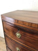 Georgian Mahogany Bow Front Chest of Drawers (12 of 16)