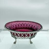 18th Century Antique George III Sterling Silver Dish London 1795 William Pitts & Joseph Preedy (7 of 11)