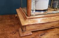 Antique Polished Oak Armstrong of Manchester Barograph (4 of 6)
