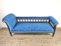 19th Century Empire Style Chaise Lounge (3 of 10)