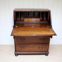 Solid Oak Bureau (5 of 6)