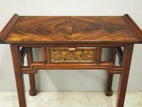 Chinoiserie Mahogany Side Table by Whytock and Reid (8 of 13)