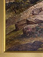 Attributed to George William Pettitt - Gilt Framed Oil Painting on Canvas (3 of 5)