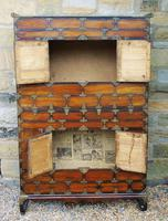 Chinese Elm Marriage Cabinet Circa 1900 (9 of 12)