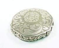 Continental Silver Loose Powder Compact 1950s (6 of 8)