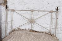 Simple Pair of Single Victorian Iron & Brass no End Beds - Can be Joined (5 of 8)
