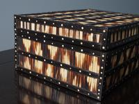 Anglo-Indian Ebony & Porcupine Quill Jewellery Box (4 of 12)