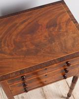 Late Regency Mahogany Work Table (3 of 4)