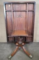 Regency Mahogany Breakfast Table / Dining Table - Seats Eight (10 of 12)