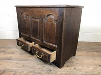 19th Century Welsh Oak Coffer Bach (M-550) (6 of 9)