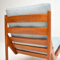 Danish 1960's Teak Lounge Chair by Illum Wikkelso (8 of 10)