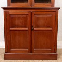 Teak Glazed Library Bookcase (3 of 11)