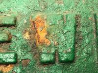 Early 20th Century Reclaimed Cast Iron Green Railway Train Sign Plaque EW1 (6 of 12)