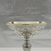 George V Sterling Silver Tazza London 1928 Theodore Rossi (7 of 10)