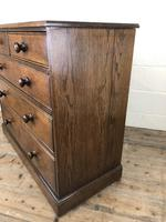 19th Century Antique Oak Chest of Drawers (5 of 12)
