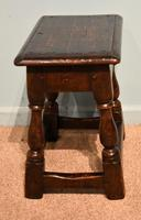 Charles II Style Oak Joint Stools (3 of 7)