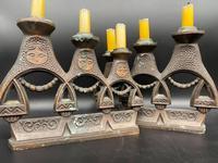 Pair of Russian Matryoshka Candlesticks (4 of 4)