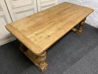 Pine Farmhouse Dining Table (3 of 17)