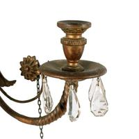 Large Carved Giltwood Wall Sconce (3 of 8)