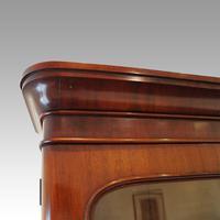 Victorian Mahogany Glazed Library Bookcase (11 of 11)