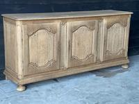 Large French Bleached Oak Enfilade or Sideboard (5 of 19)
