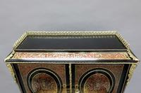French 19th Century Louis XV Style Boulle Writing Cabinet (10 of 11)