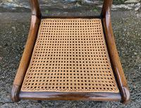 Set of 4 Regency Rosewood Sabre Leg Dining Chairs (12 of 15)